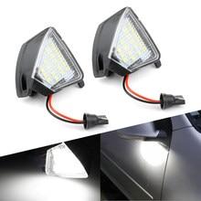 AUXITO – lumière de voiture pour rétroviseur latéral, pour VW Golf 5 Plus Eos Passat CC Jetta MK3 Touran Sharan MK2 7N, accessoires