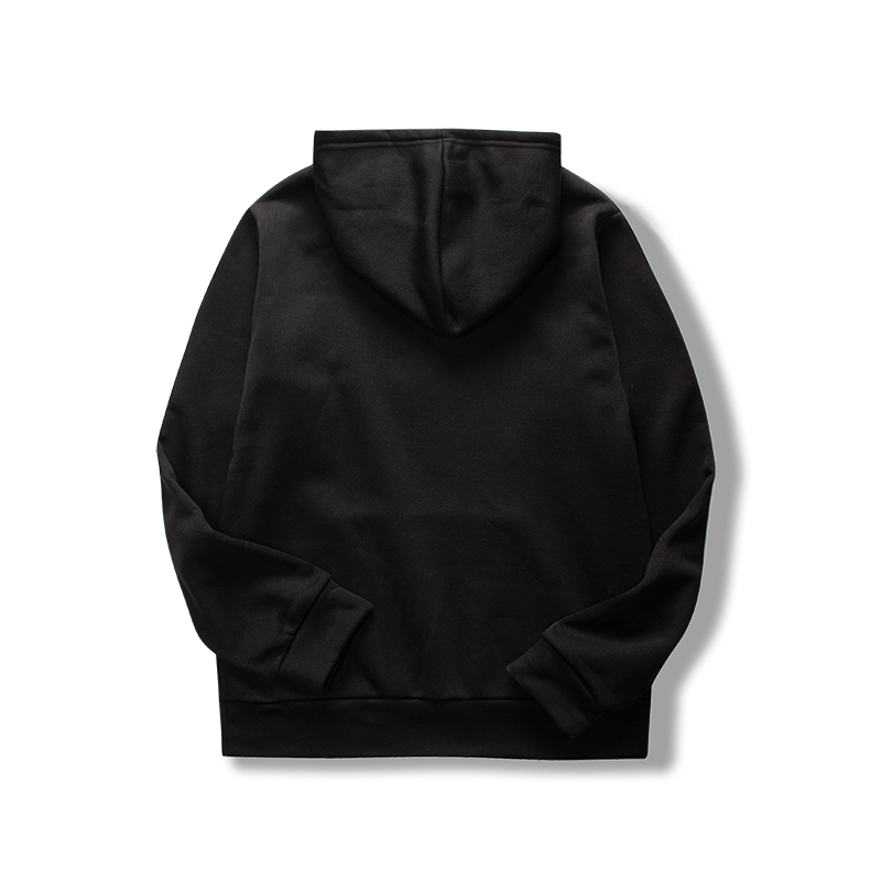 19 women's long-sleeved plain hooded sweatshirt plain multi-color men's and women's casual pullover hoodie 15