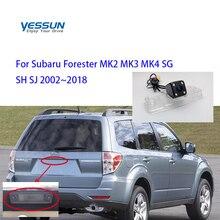 Yessun камера номерного знака для Subaru Forester MK2 MK3 MK4 SG SH SJ 2002~ Автомобильная камера заднего вида помощь при парковке