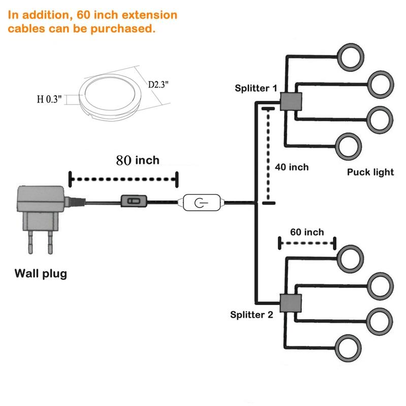 installation instructions under cabinet lighting 8