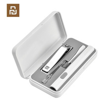 HUOHOU LED Portable USB Ear Nail Care Kit Ear Pick Brush Wax Cleaner Removal Tool Kit with Light Nail File Clipper Cutter