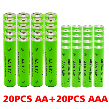 AA + AAA 100 nowy 1 5V akumulator AA AAA alkaliczne 2100-3000mah latarka zabawki zegar odtwarzacz MP3 wymienić akumulator Ni-Mh tanie i dobre opinie Jungla 1351-2199 mAh Li-ion 1 5VAA+1 5VAAA Baterie Tylko 4-40PCS Pakiet 1