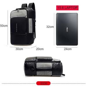 Image 5 - 17 אינץ מחשב נייד תרמיל אנטי גניבה תיק זכר גברים Bagpack USB 15.6 מחברת נסיעות עסקי תרמילי גבר עמיד למים חיצוני שקיות