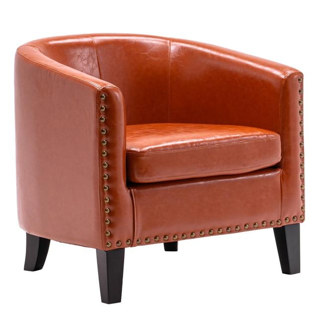 Circle Chair w/ Copper Nails 2