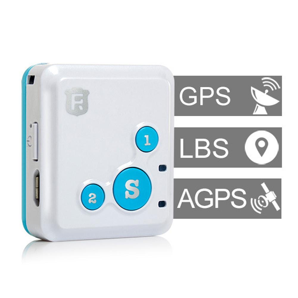 Portable GPS Trackers Emergency Safety Kids Elderly Real-time SOS Alarm Locator