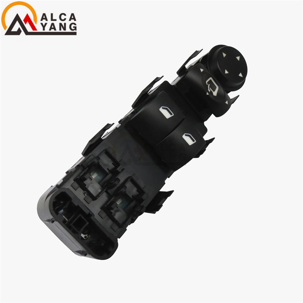NEW High Quality Coupe Black window Switch Mirror Adjustment Switch Left For Citroen <font><b>C4</b></font> LC 2004 2005 <font><b>2006</b></font> 2007 2008 image