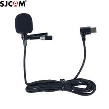 New Original SJCAM Series Accessories External Microphone with Clip Type C for SJ9 Max Strike /SJ8 Pro/Plus/Air Action Camera