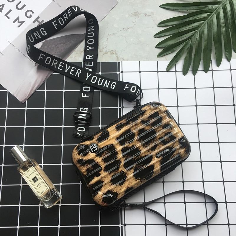 Bolsas de mão de luxo femininas, bolsa de ombro em forma de mala, de grife, uma pequena mala com capa de mão