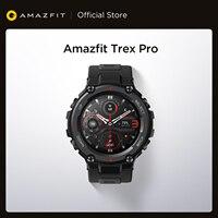 Amazfit Trex Pro-reloj inteligente para exterior, resistente al agua, con GPS, batería de 18 días de duración, 390mAh, para teléfono Android e iOS, versión Global