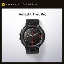 Globale Version Amazfit Trex Pro GPS Outdoor Smartwatch Wasserdichte 18-tag Batterie Lebensdauer 390mAh Smart Uhr Für Android iOS Telefon