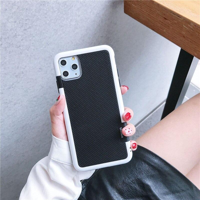 Противоударный Гибридный Силиконовый противоударный чехол для funda iPhone 6S 7Plus 7 8 Plus Xs Max XR Противоскользящий чехол для iPhone 11 Pro Max