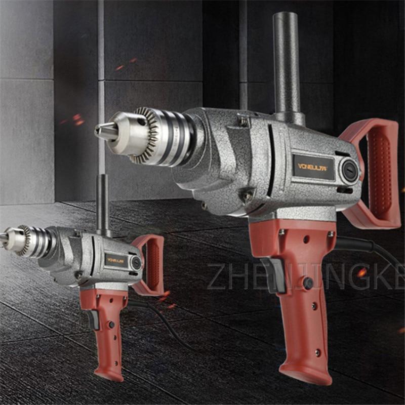Electric Electric Drill Industrial Grade Aircraft Drill Mixer Lmpact Drill Mixer Stir Drilling Home Improvement Building Tool