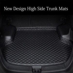 Esteras de maletero de coche personalizadas especiales para Mercedes Benz A B180 C200 E260 CL CLA GLK300 ML S350/400 revestimiento de suelo de alfombra de diseño de coche