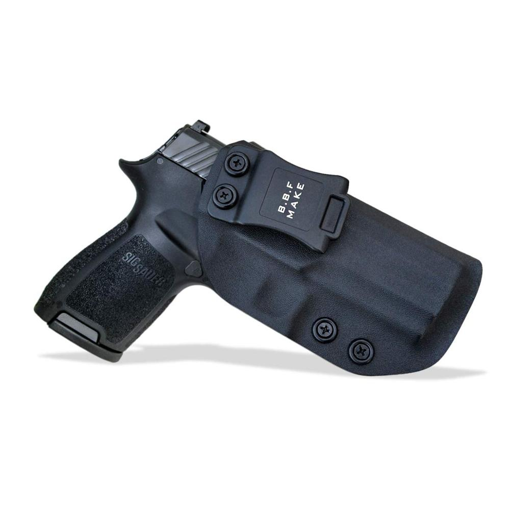 B.B.F Make IWB KYDEX Holster Fit: Sig Sauer P320 Carry Compact Gun Holster Inside Concealed Waist Carry Holsters Pistol Case(China)