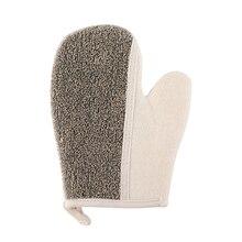 Рукавицы для ванной отшелушивающие рукавицы для душа сухие спа Антибактериальный спонж комбо для сухой кожи целлюлит общий грим