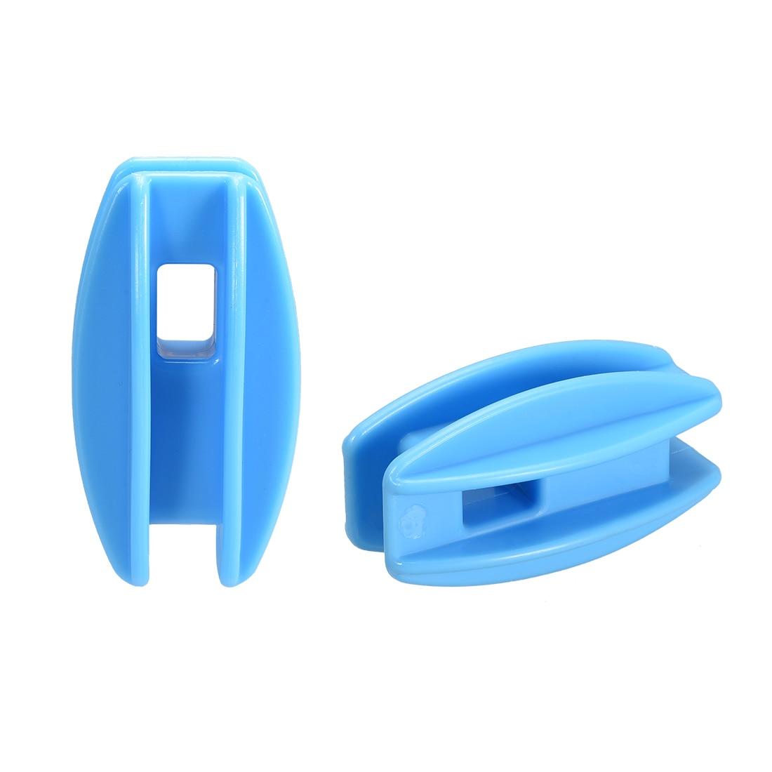 Uxcell Высокое напряжение угловой изолятор столба для провод для электрического ограждения цвет: черный, синий для Применение с поли провода и...
