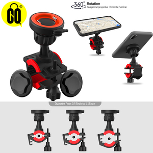 Image 1 - Bicycle Phone Holder For 3.5 6.2 inch Smart phone Adjustable Support GPS Bike Phone Stand Mount Bracket