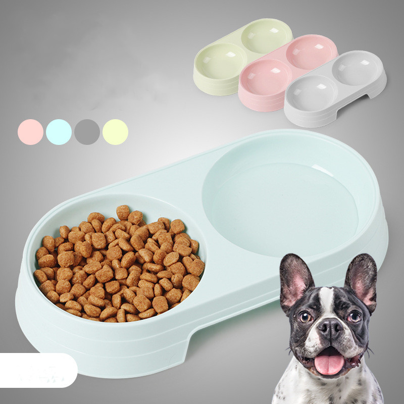 Portable Anti-drop Material Dog Bowls Cats Feeder Tableware Dog Feeder Tableware Cat Bowl Dog Food Container Pet Accessories