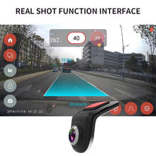 Gravador de condução inteligente de alta definição usb escondido android grande tela navegador liga de zinco suporte adas dvr auxiliares de condução