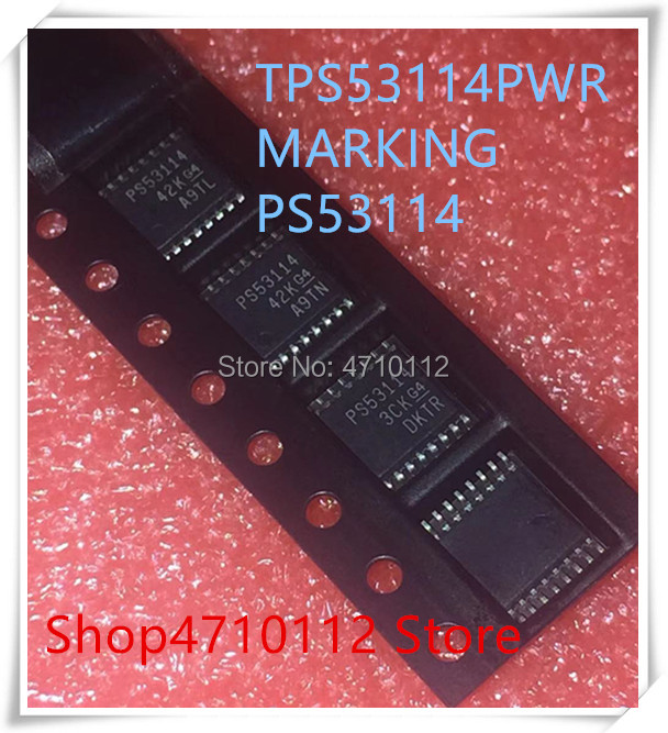 NEW 10PCS/LOT TPS53114PWPR TPS53114 PS53114 HTSSOP-16 IC