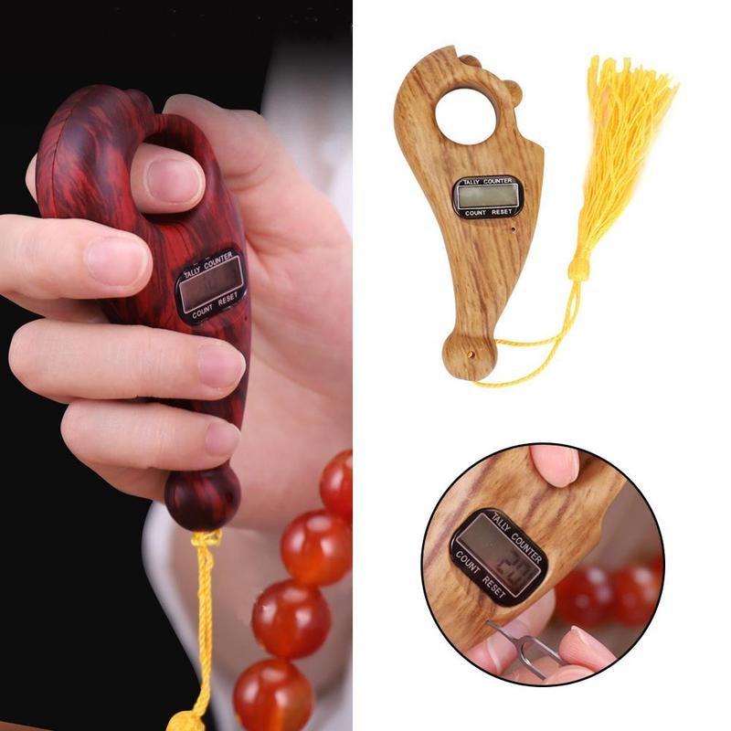 Digital Finger Tasbeeh Misbaha Counter for prayer Tasbih Islamic Muslim Buddha