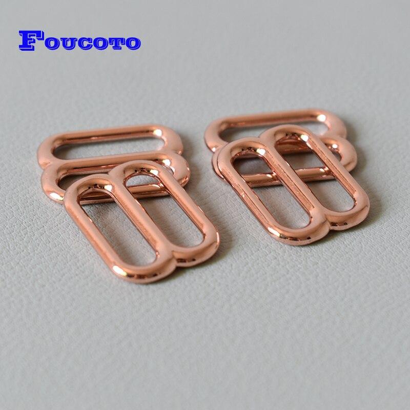10Pcs Metal Buckle Belt Adjustable Roller Buckles Shoes Leather Belt Buckle