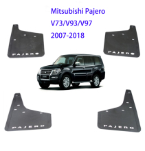 Auto Fenders For Mitsubishi Pajero V73/V93/V97 mudguards car splash guards  mud flaps in 2007-2018
