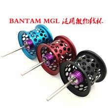 Bobine de MICROCAST légère de bobine de pêche faite sur commande de bricolage BANTAM MGL