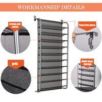 Over Door Hanging Shoe Rack Shoes Organizer Wall Mounted Shoe Hanging Shelf Multi layer Household YU Home