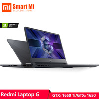 Global Xiaomi Mi Redmi G Gaming Laptop GTX1650/GTX1650Ti i5 10300H/i7 10750H 16GB RAM 512GB SSD Bluetooth 5.1 Built In Camera