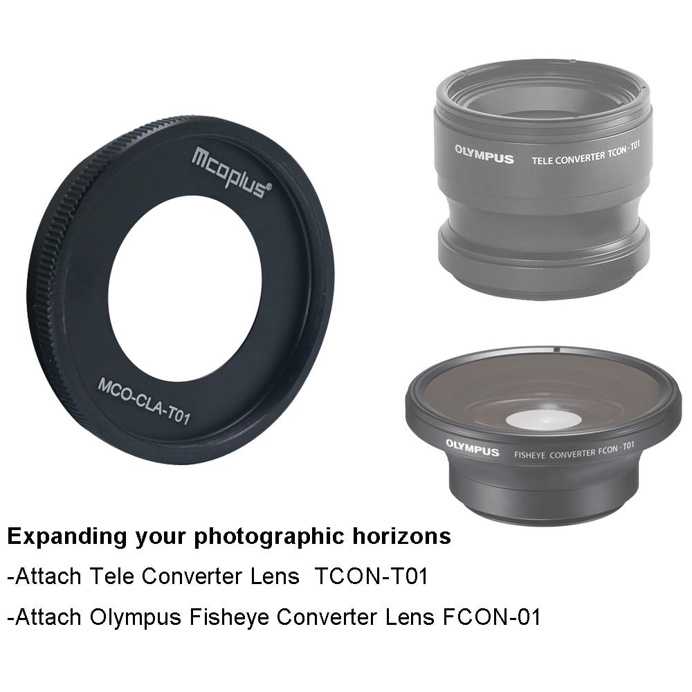 Adaptador CLA-T01 para FCON-T01 Olympus TCON-T01 para TG-1