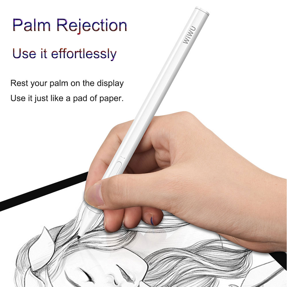 Stylus For IPad Pencil Palm Rejection Touch Pen For IPad 9.7 2018 Pro 11 12.9 2018 Air 3 10.5 2019 10.2 Mini 5 For Apple Pencil