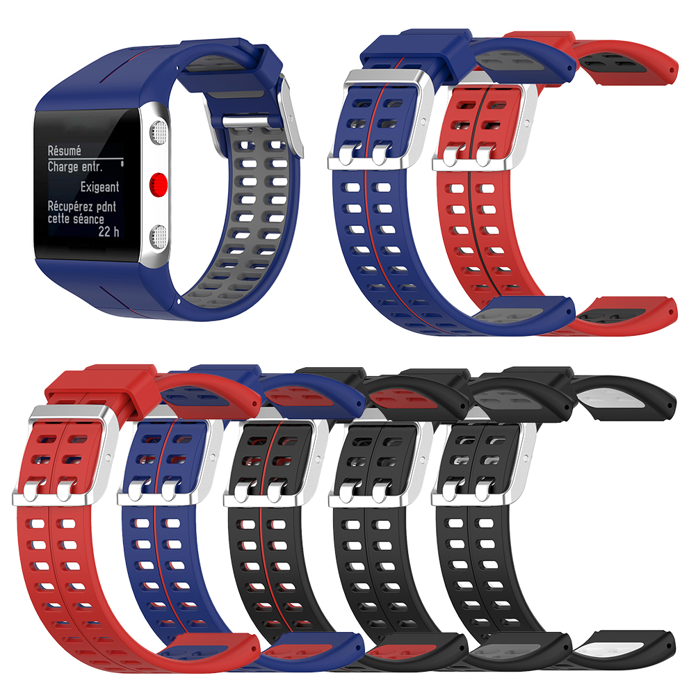 Сменный силиконовый ремешок для часов, аксессуары для покупок на открытом воздухе для Polar V800 GPS, умный браслет, ремешок на запястье