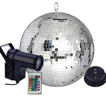 Pinspot Light Reflective-Mirror-Ball Remote-Control Beam Wedding-Disco Motor-Party Led Rgb