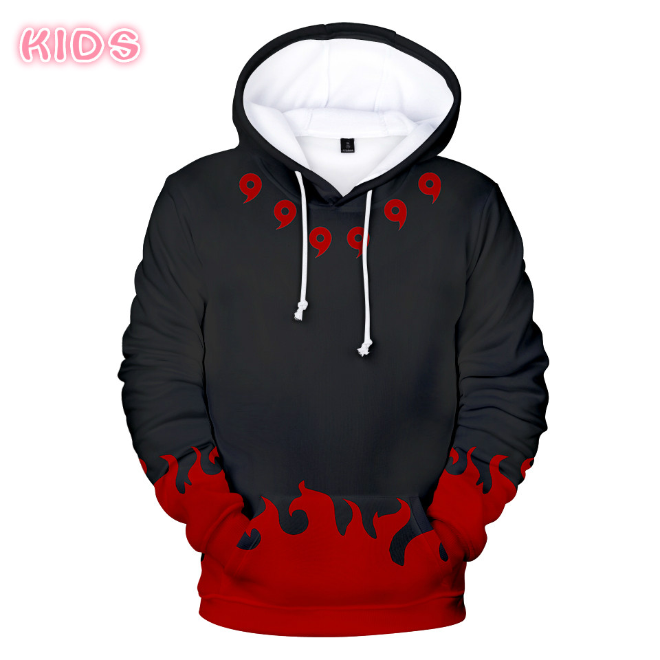Best Selling Naruto Hoodies Men's Sweatshirt Warm Streetwear Women Hooded Tops Anime For Adults And Children Hoodie Naruto Kids