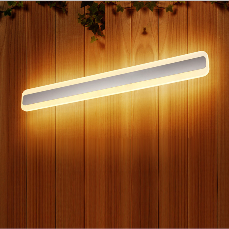 Modern 60cm Led Bathroom Lamp 85-265V 20W Waterproof Ant-fog Mirror Light In Washroom