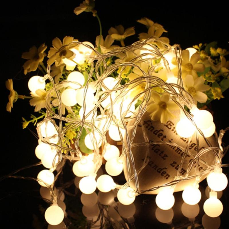 1.5M/3M/4.5M/6M/10M LED String Lights Fairy Lights Outdoor Battery Operated Garland Christmas Decoration Party Wedding Xmas