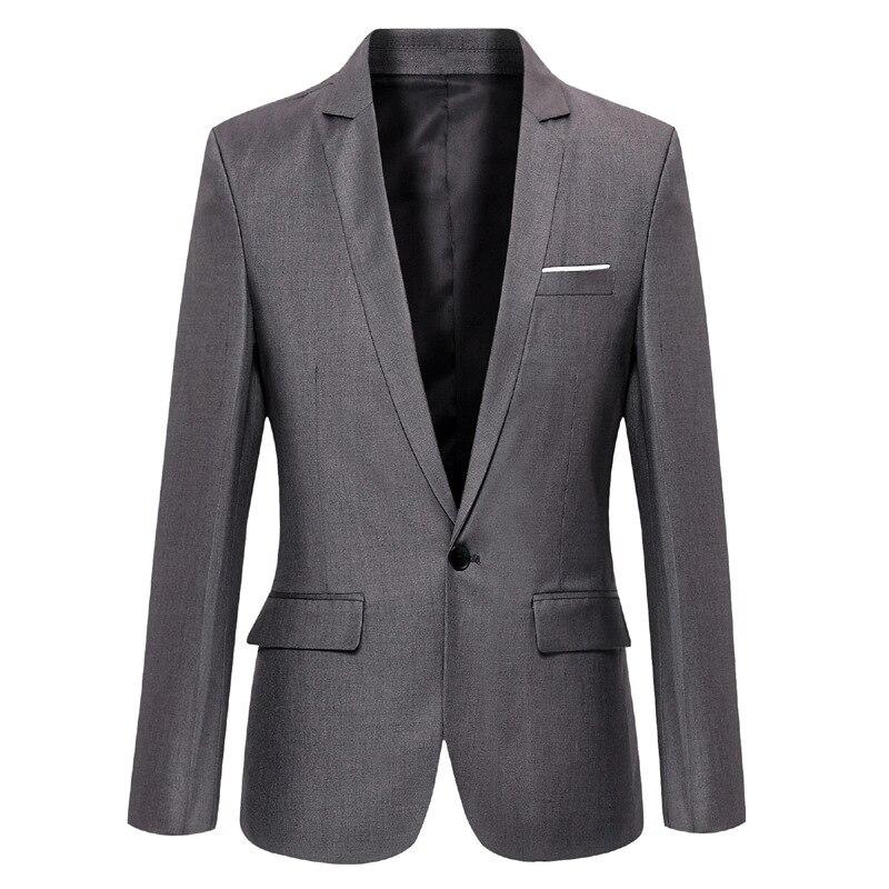 New Products Business MEN'S Suit Single West Slim Fit Men'S Wear White Collar Suit Men's Small Suit Men's Large Size Men's