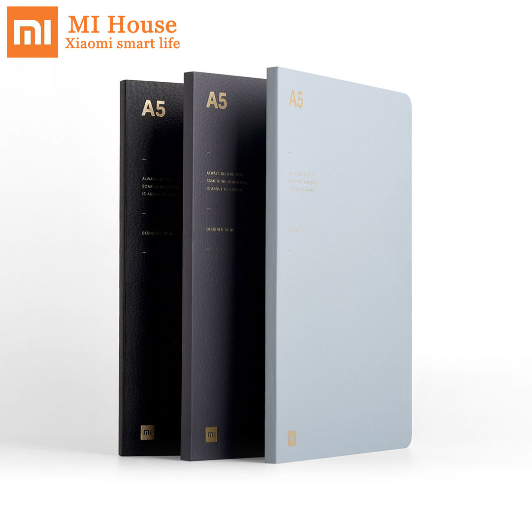 Xiaomi A5 Notebook 80g Notebook Diary Note Book 64 Pages Inner Line Dot Sqaure Paper Stationery Gift Book For Office Travel