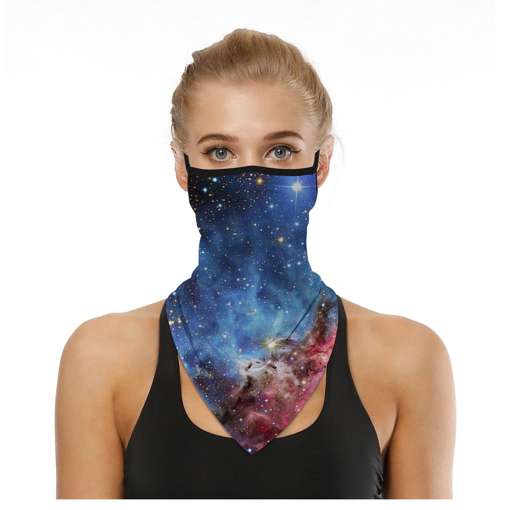 He043b2a67b7a4936b621d760f747046eZ - Outdoor mask High Elastic Neck Buffs Tube Bandana Skull Cycling Motorcycle Face Shield Face Mask Hiking Scarves Bandana Ski
