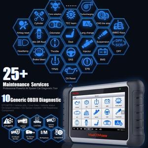 Image 2 - Autel ماسح تشخيصي للسيارة MaxiCOM MK808BT ، OBD2 ، بلوتوث ، 2021