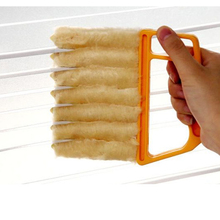 Blind brush Window cleaning brush air Conditioner Cleaner Blind Cleaner Dirt Duster Cleaner Washable Venetian Blind Cleaning colour blind