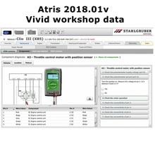 2020 venda quente automotivo vívida oficina dados 2018.01v( (atris-technik) software de reparo europa + catálogo de peças de atris 80gb hdd