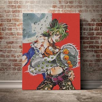 Modular Jolyne Cujoh Canvas Picture Home Decor Prints JoJo's Bizarre Adventure Painting Stone Ocean Poster Anime Wall Art Framed