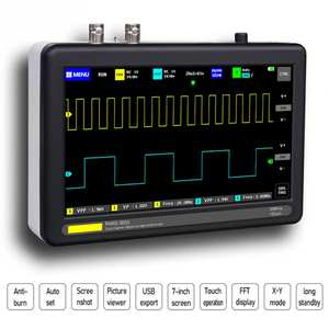 For Electronic Maintenance Digital Storage Oscilloscope Set Intelligent Multifunctional 8MB Handheld Mini 1GSa Engineering