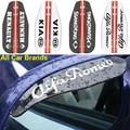 4 шт., автомобильные наклейки на зеркало заднего вида для Hyundai Santa Fe Sonata Solaris Azera Creta I30 IX25 35 Tucson