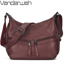 Luxury Handbag Women Bags Designer Crossbody Bags for Women Feminina Bolsa Ladies Soft Leather Shoulder Messenger Bag Sac A Main