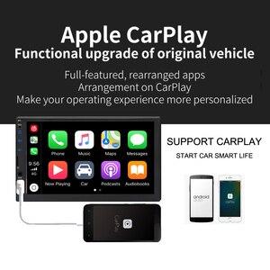 2020 New Ui 2din Car Radio Autoradio carplay capactive screen full touch screen Multimedia Player Rear View Camera bluetooth FM