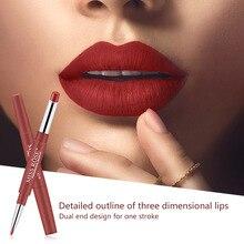 Waterproof Lipstick Gloss Makeup Cosmetics Cup-Lip-Tint Matte Lip Long-Lasting Pencil