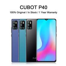 Cubot-teléfono inteligente P40, teléfono móvil con cámara Selfie potente de 20MP, batería de 4200, 128 gb RAM, pantalla de 6,2 pulgadas, Android 10, soporta NFC